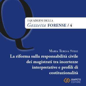 La riforma sulla responsabilità civile...